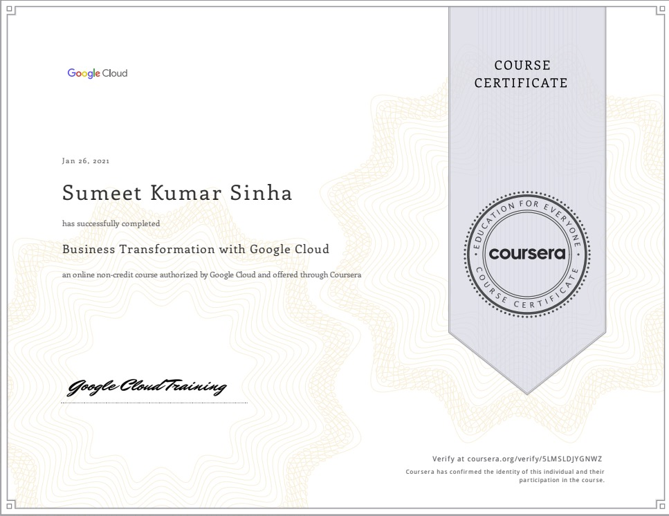 Business-Transformation-with-Google-Cloud