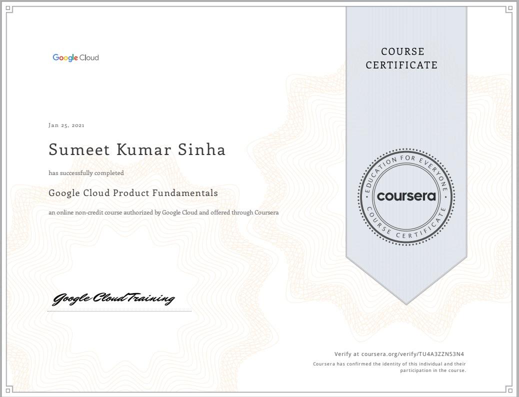 Google-Cloud-Product-Fundamentals